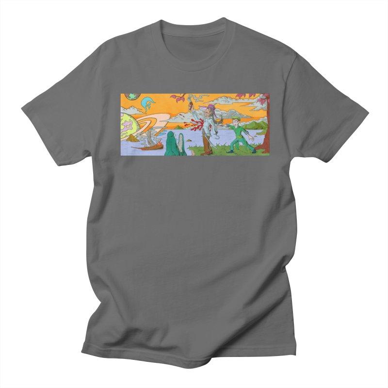 Neverland Women's T-Shirt by Nick Lee Art's Artist Shop