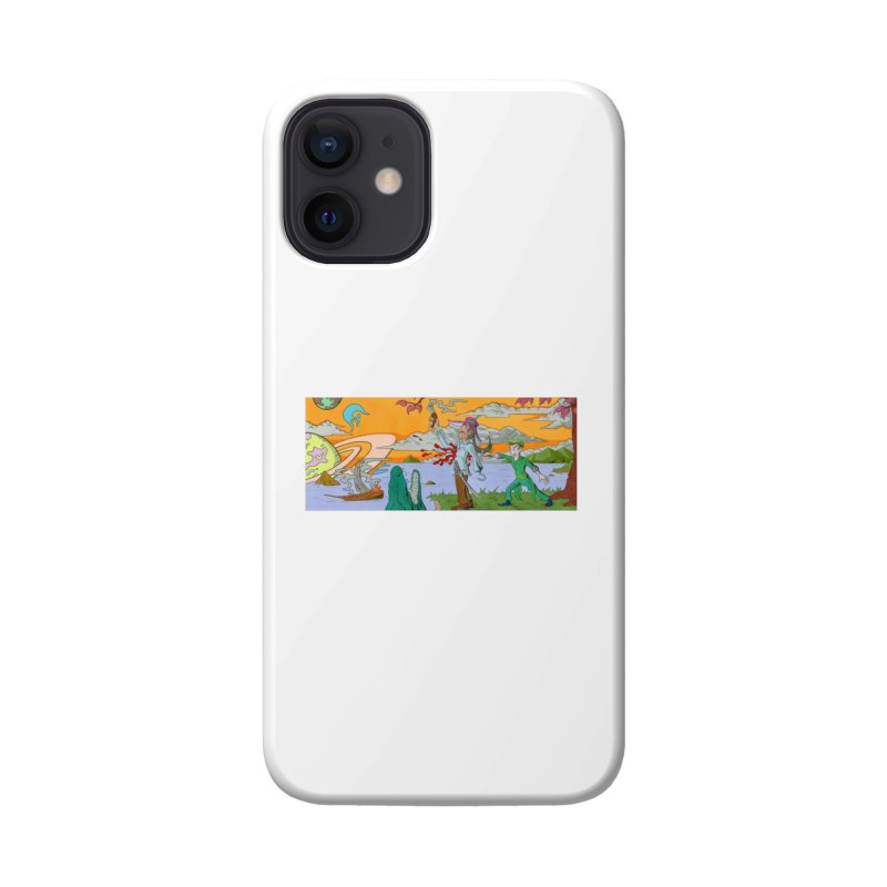 Neverland Accessories Phone Case by Nick Lee Art's Artist Shop
