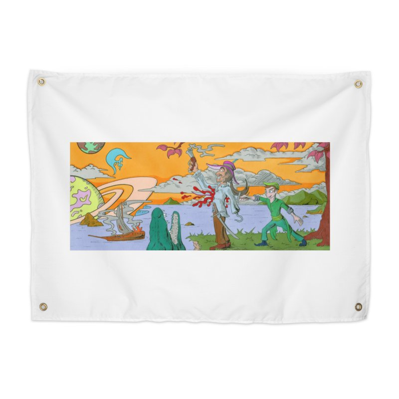 Neverland Home Tapestry by Nick Lee Art's Artist Shop