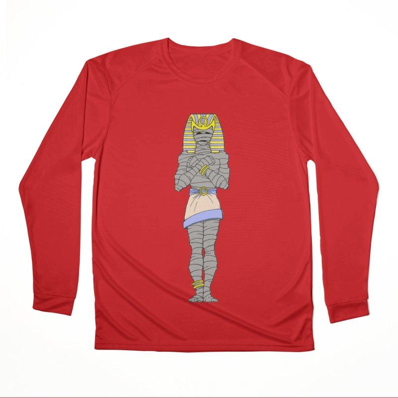Bo's Pharaoh Men's Longsleeve T-Shirt by Nick Lee Art's Artist Shop