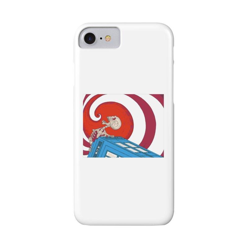 Phone Box Skeleton Accessories Phone Case by Nick Lee Art's Artist Shop