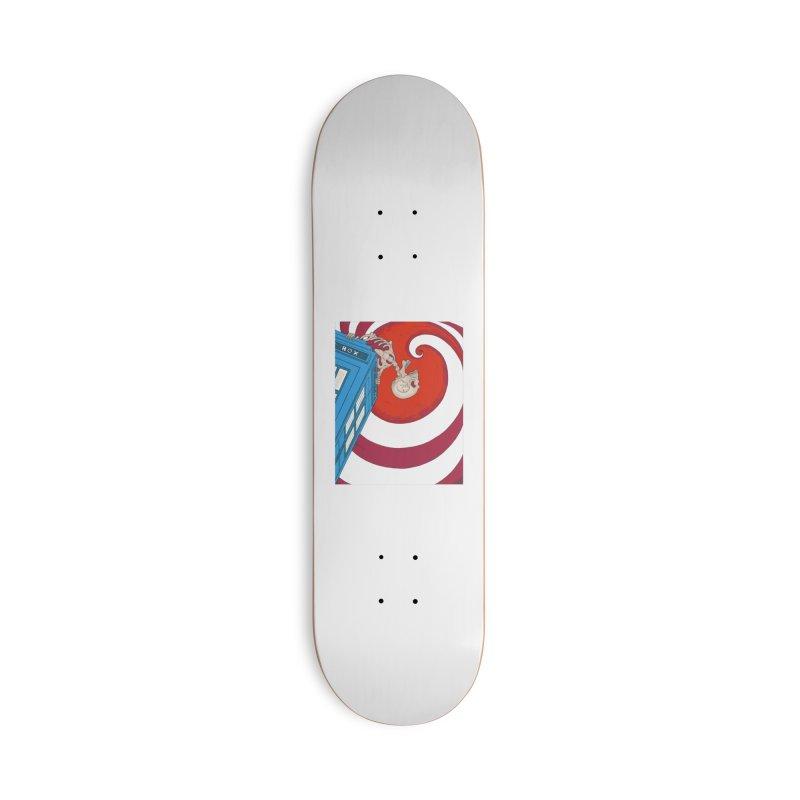 Phone Box Skeleton Accessories Skateboard by Nick Lee Art's Artist Shop