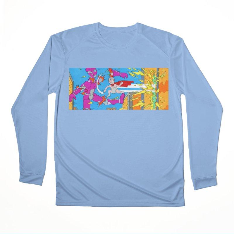 Super Baby! Men's Longsleeve T-Shirt by Nick Lee Art's Artist Shop