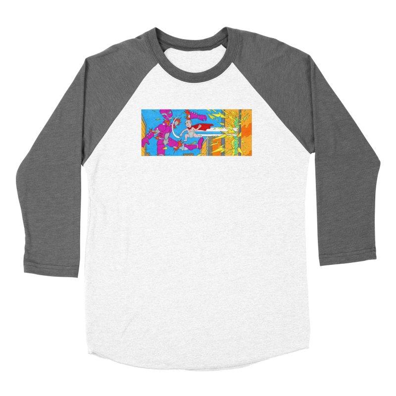 Super Baby! Women's Longsleeve T-Shirt by Nick Lee Art's Artist Shop