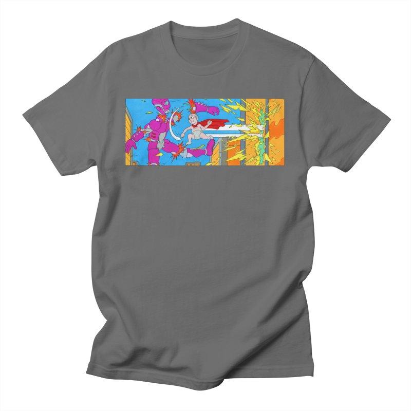 Super Baby! Men's T-Shirt by Nick Lee Art's Artist Shop