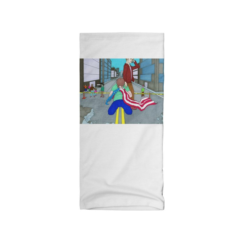 Wake of the Sleeping Giant Accessories Neck Gaiter by Nick Lee Art's Artist Shop