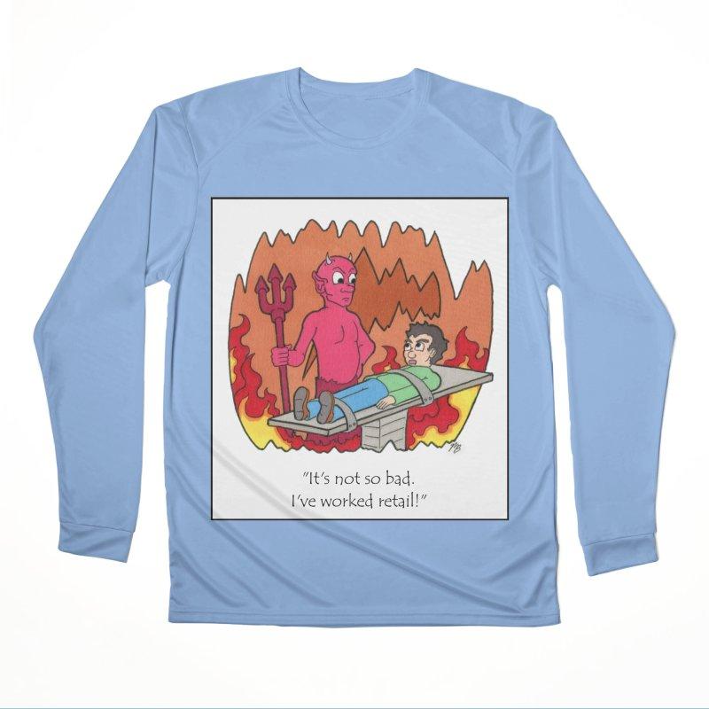 Retail is hell Men's Longsleeve T-Shirt by Nick Lee Art's Artist Shop