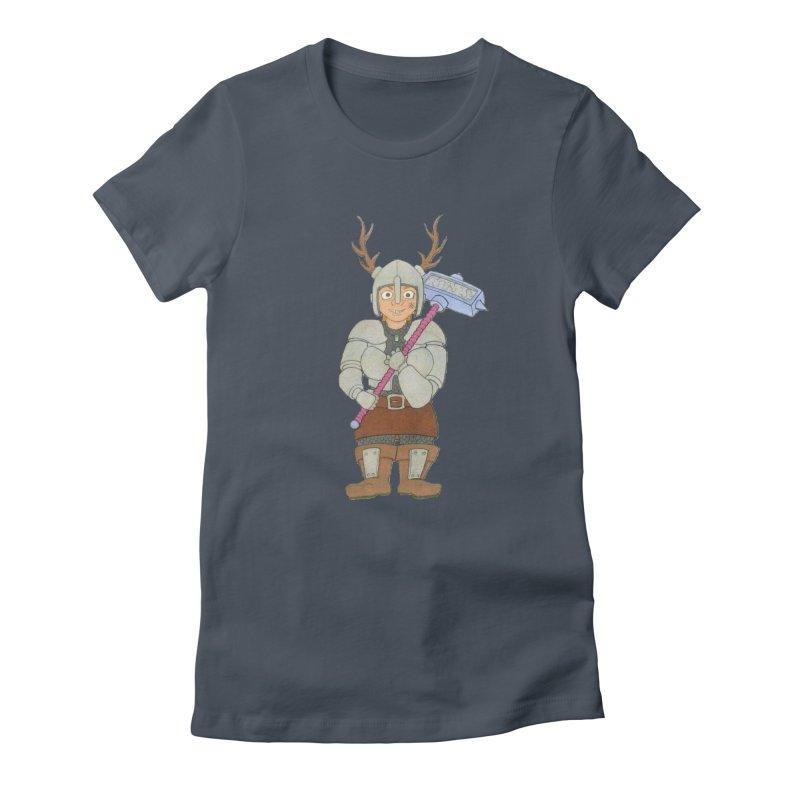 Gurdis Women's T-Shirt by Nick Lee Art's Artist Shop