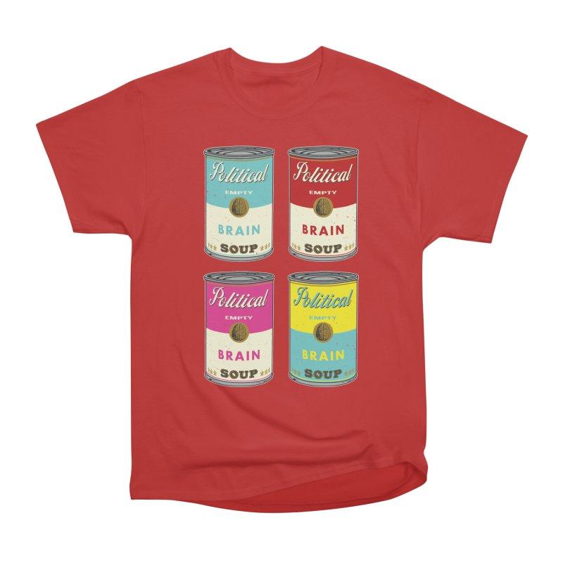 Political Brain Soup Men's Classic T-Shirt by nickmanofredda's Artist Shop