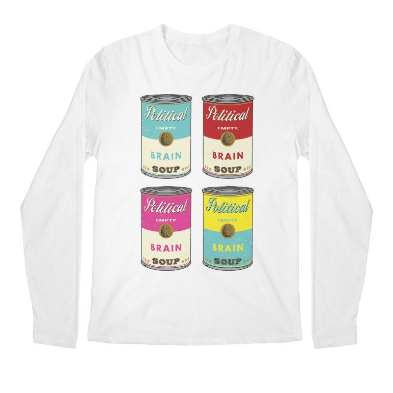 Political Brain Soup Men's Regular Longsleeve T-Shirt by nickmanofredda's Artist Shop