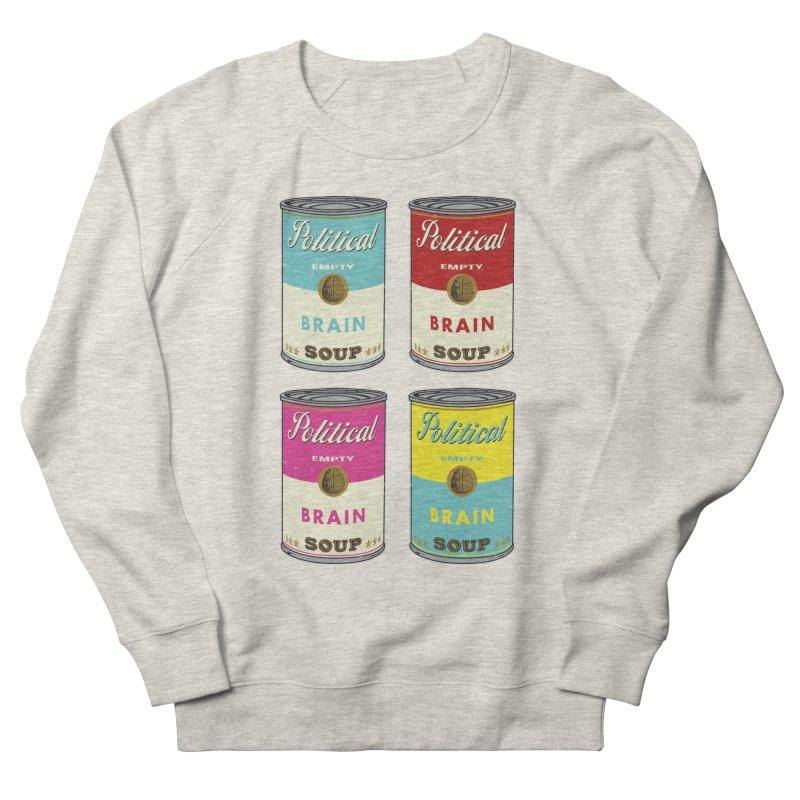 Political Brain Soup Men's Sweatshirt by nickmanofredda's Artist Shop