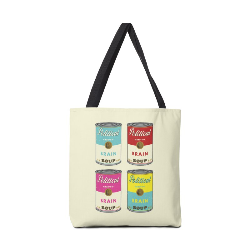 Political Brain Soup Accessories Tote Bag Bag by nickmanofredda's Artist Shop