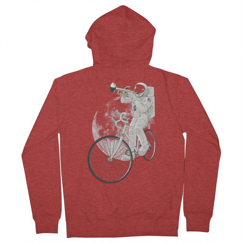 ARMSTRONG Women's French Terry Zip-Up Hoody by nickmanofredda's Artist Shop