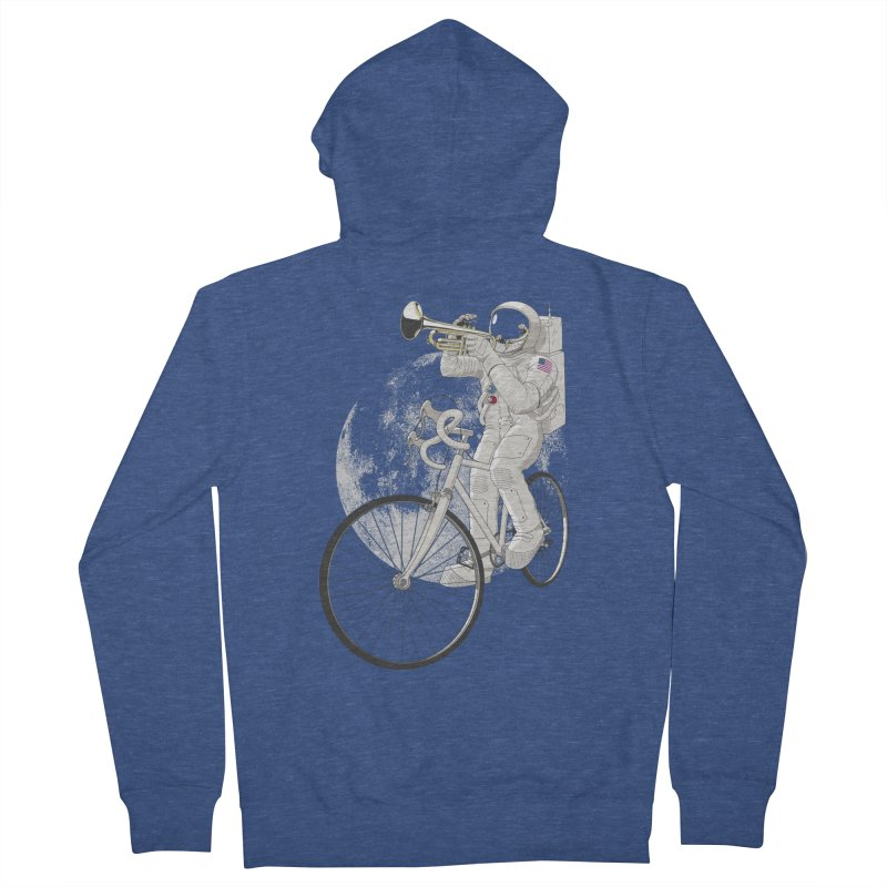 ARMSTRONG Men's French Terry Zip-Up Hoody by nickmanofredda's Artist Shop