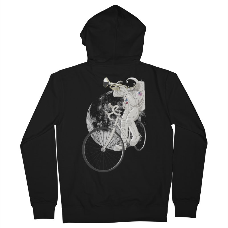 ARMSTRONG Men's Zip-Up Hoody by nickmanofredda's Artist Shop