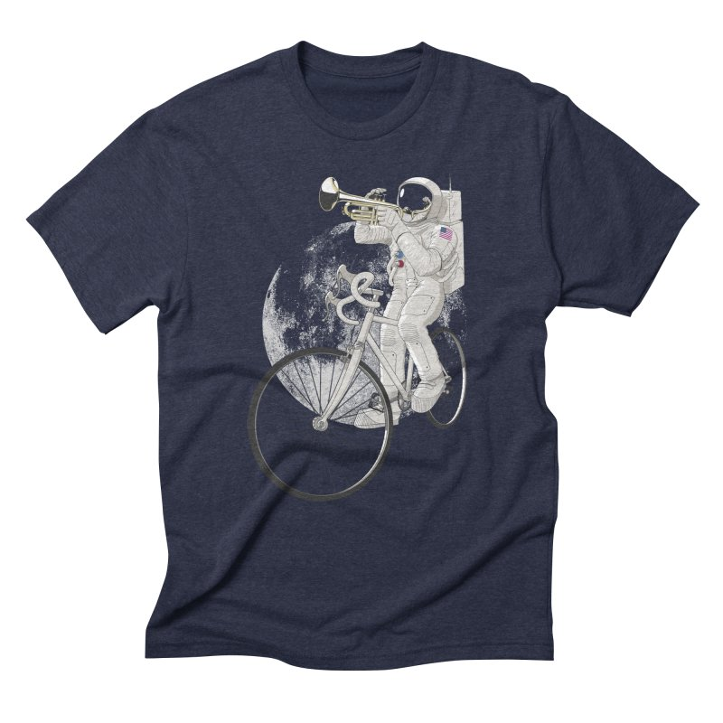ARMSTRONG Men's Triblend T-Shirt by nickmanofredda's Artist Shop
