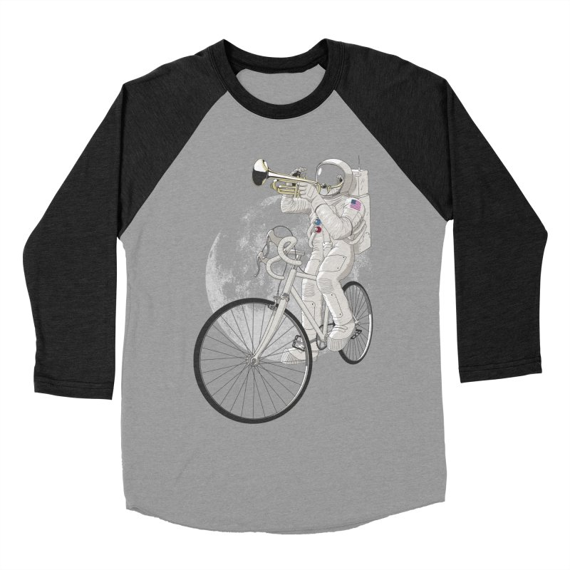 ARMSTRONG Women's Baseball Triblend Longsleeve T-Shirt by nickmanofredda's Artist Shop