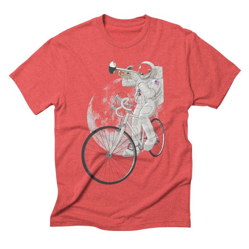 ARMSTRONG Men's Triblend T-shirt by nickmanofredda's Artist Shop