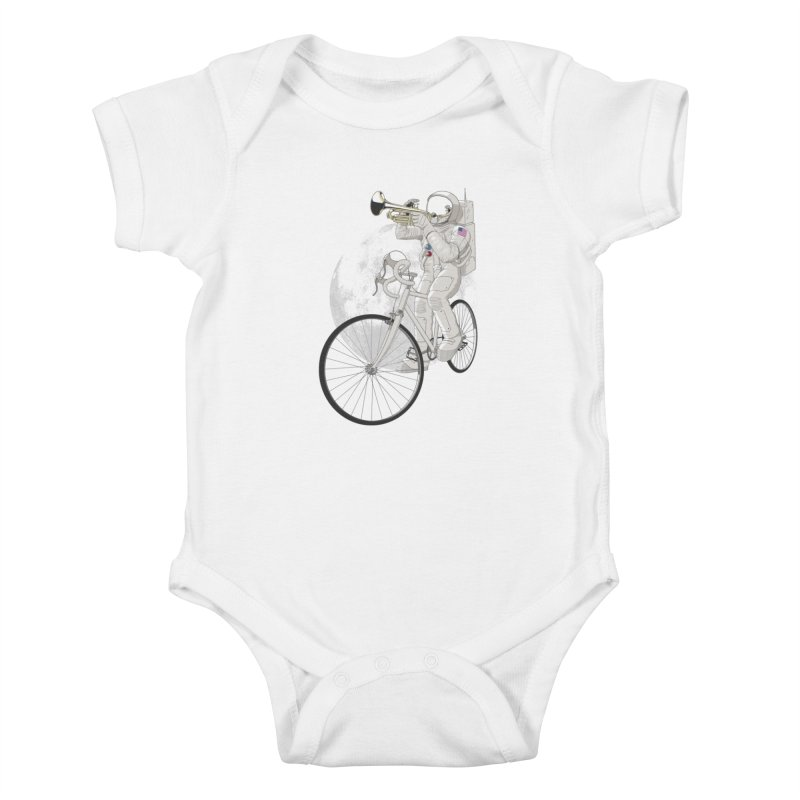ARMSTRONG Kids Baby Bodysuit by nickmanofredda's Artist Shop