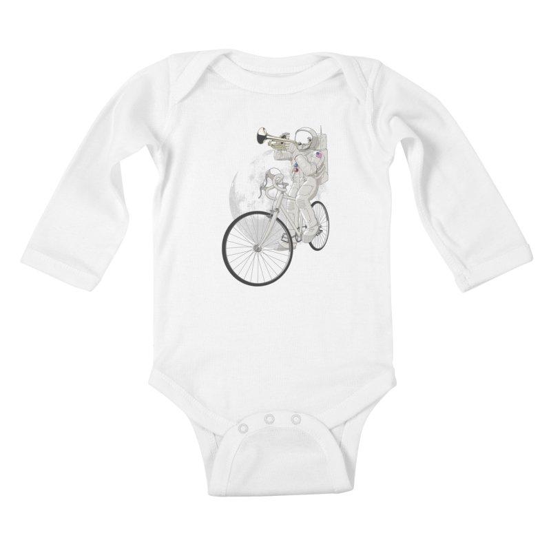 ARMSTRONG Kids Baby Longsleeve Bodysuit by nickmanofredda's Artist Shop