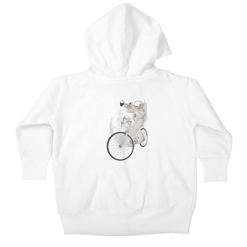 ARMSTRONG Kids Baby Zip-Up Hoody by nickmanofredda's Artist Shop