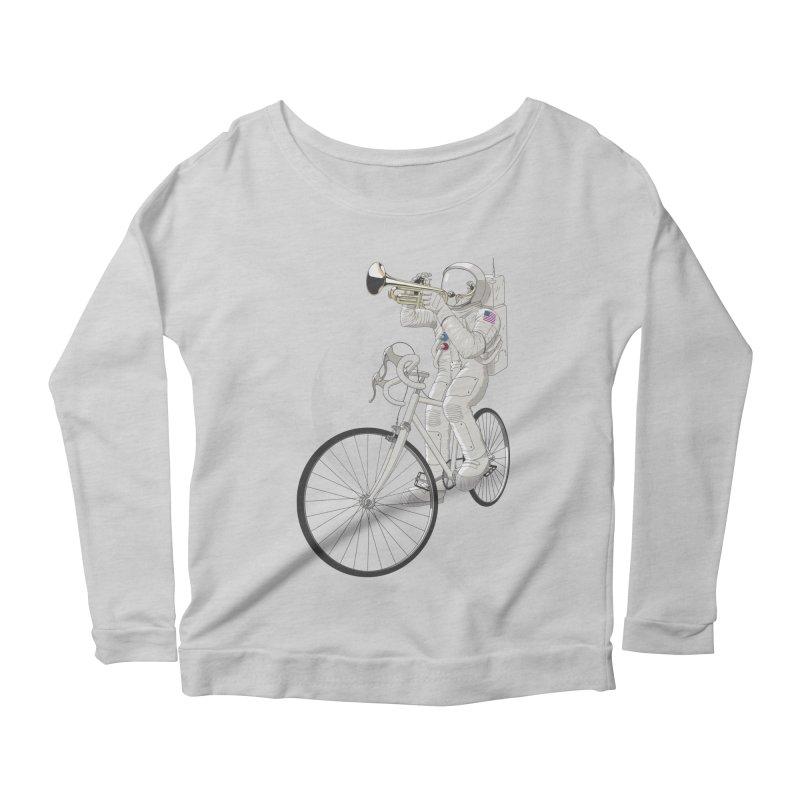 ARMSTRONG Women's Scoop Neck Longsleeve T-Shirt by nickmanofredda's Artist Shop