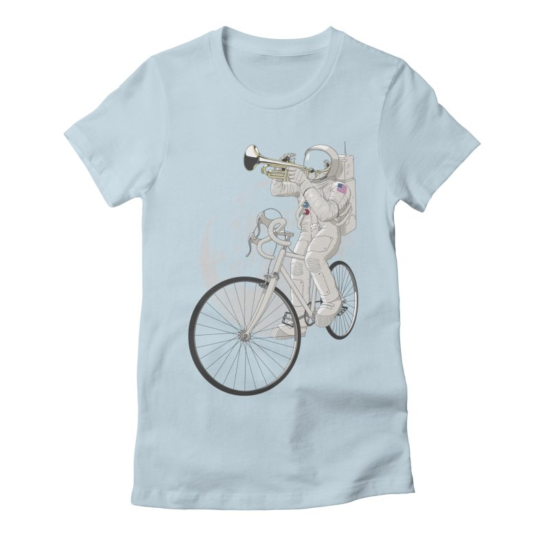 ARMSTRONG Women's Fitted T-Shirt by nickmanofredda's Artist Shop