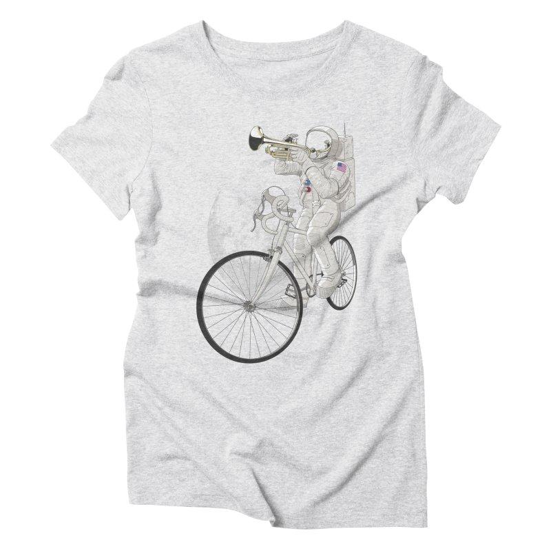 ARMSTRONG Women's Triblend T-Shirt by nickmanofredda's Artist Shop