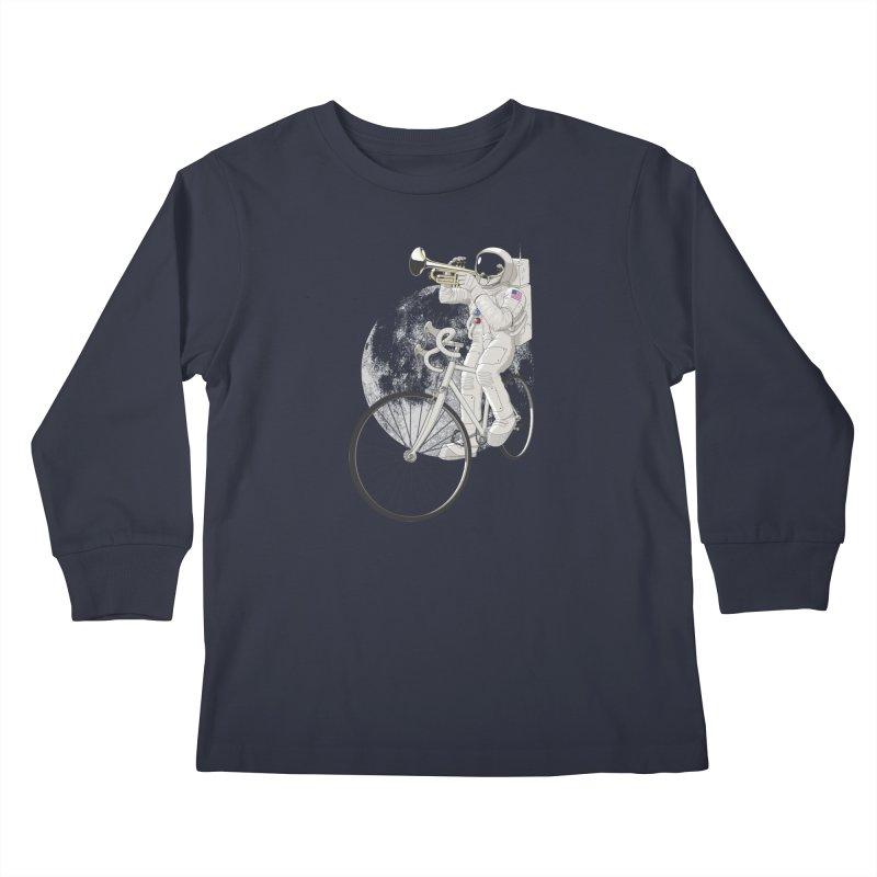 ARMSTRONG Kids Longsleeve T-Shirt by nickmanofredda's Artist Shop