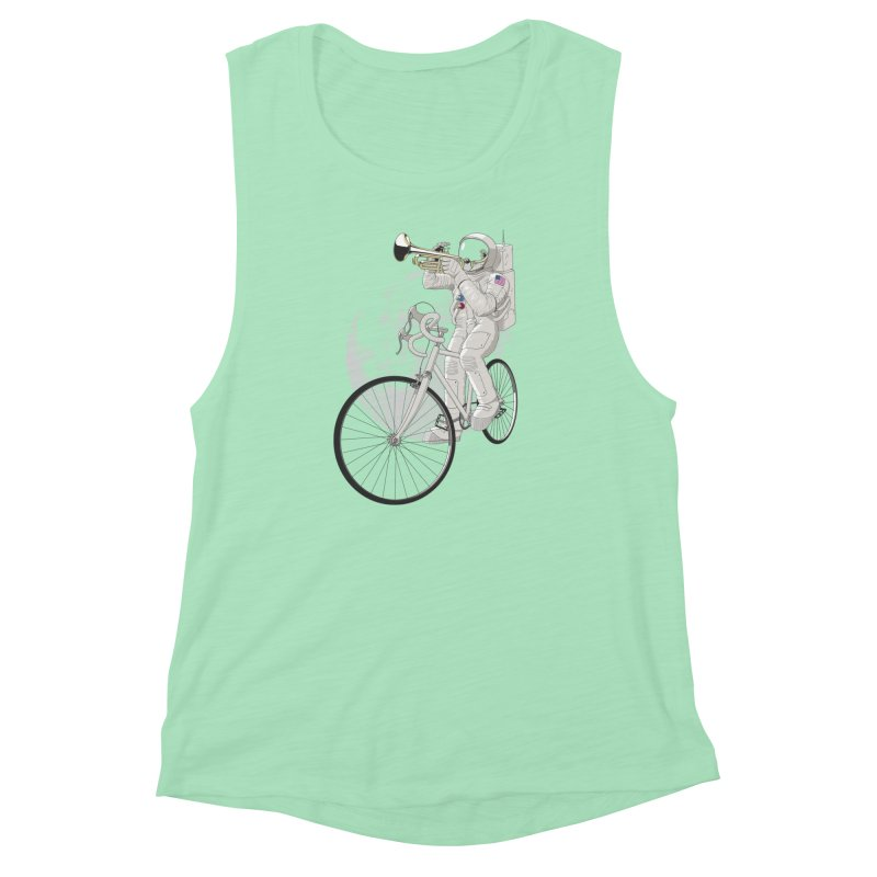 ARMSTRONG Women's Muscle Tank by nickmanofredda's Artist Shop