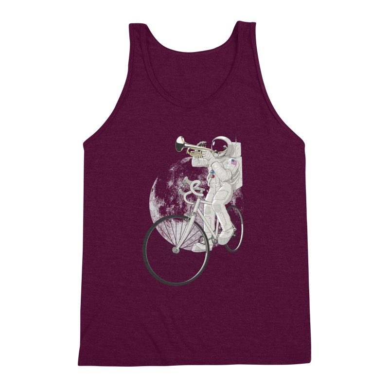 ARMSTRONG Men's Triblend Tank by nickmanofredda's Artist Shop