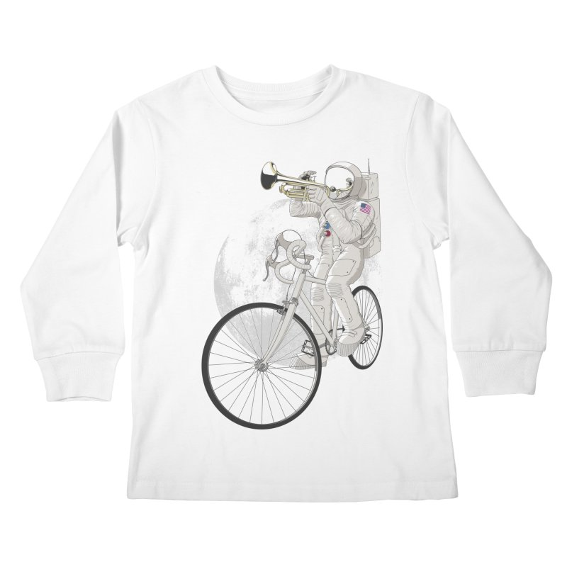 ARMSTRONG Kids Longsleeve T-Shirt by nickmanofredda's Artist Shop