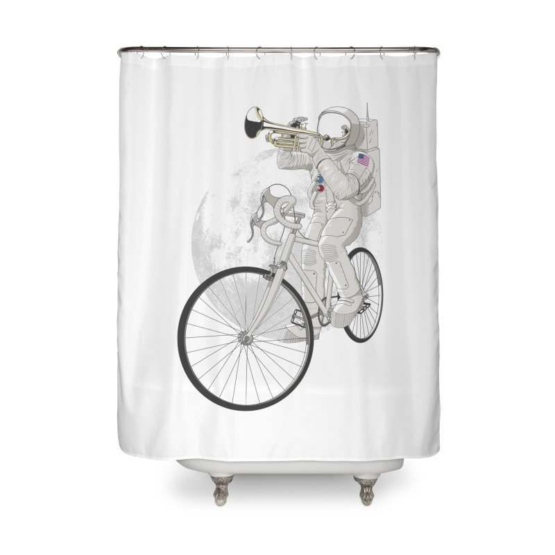 ARMSTRONG Home Shower Curtain by nickmanofredda's Artist Shop