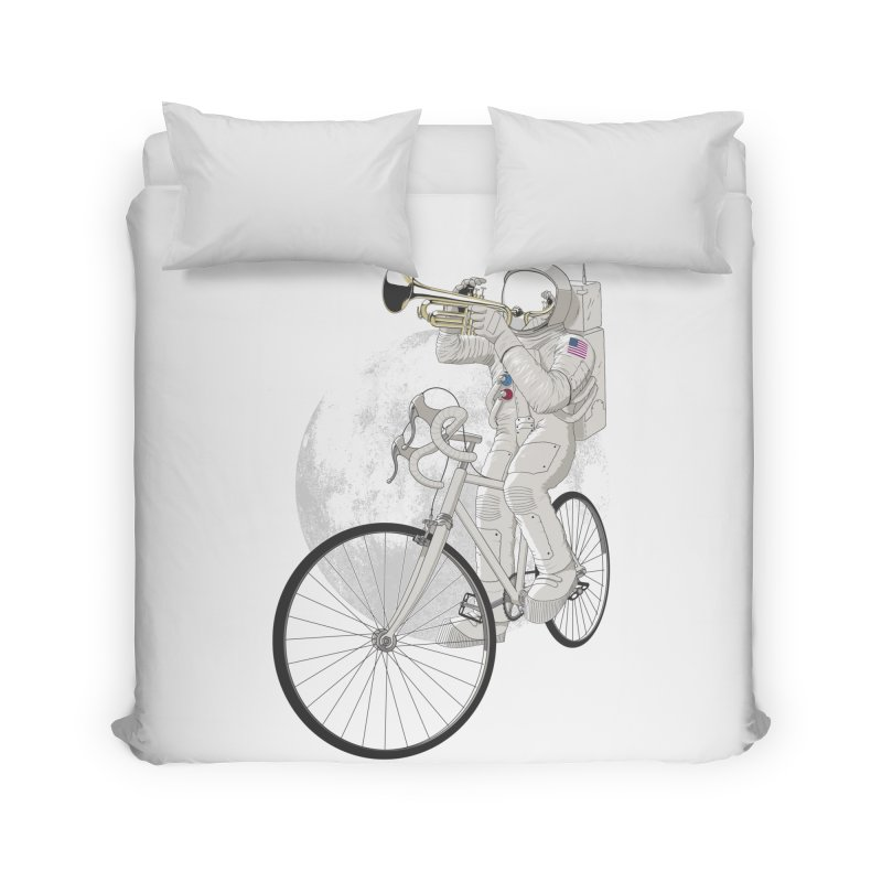 ARMSTRONG Home Duvet by nickmanofredda's Artist Shop