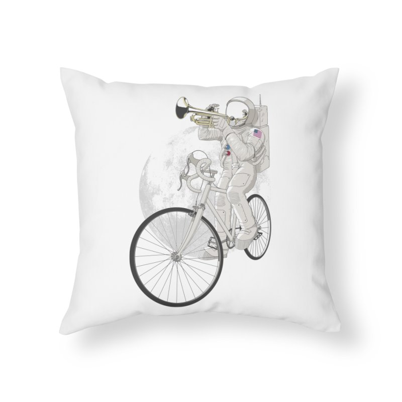 ARMSTRONG Home Throw Pillow by nickmanofredda's Artist Shop