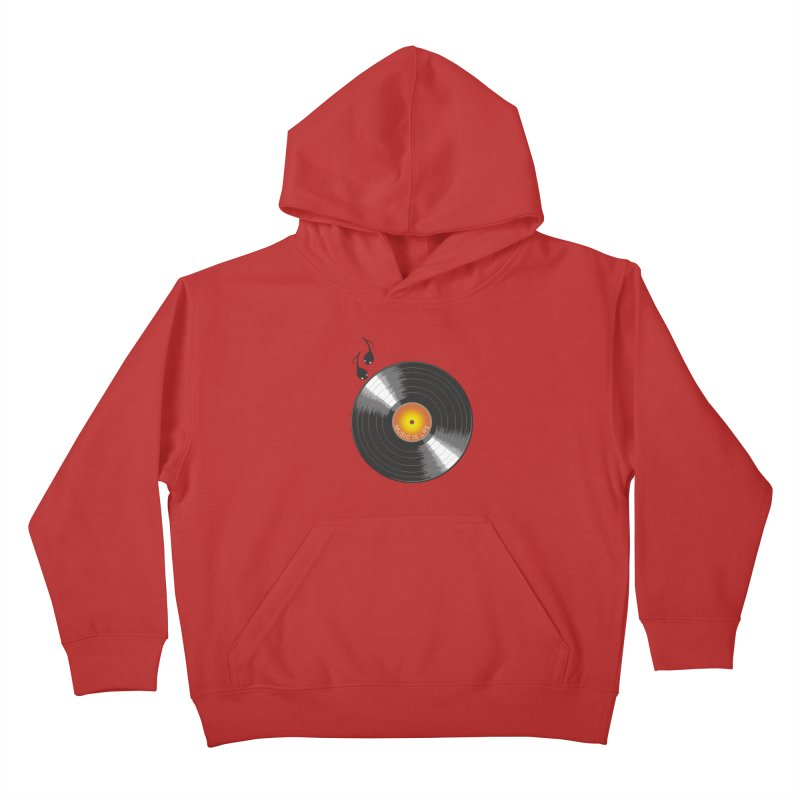 Music is Life Kids Pullover Hoody by nickmanofredda's Artist Shop