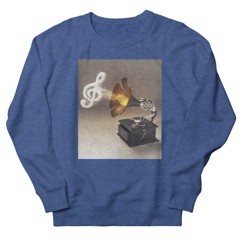 Let The Music Play Men's Sweatshirt by nickmanofredda's Artist Shop