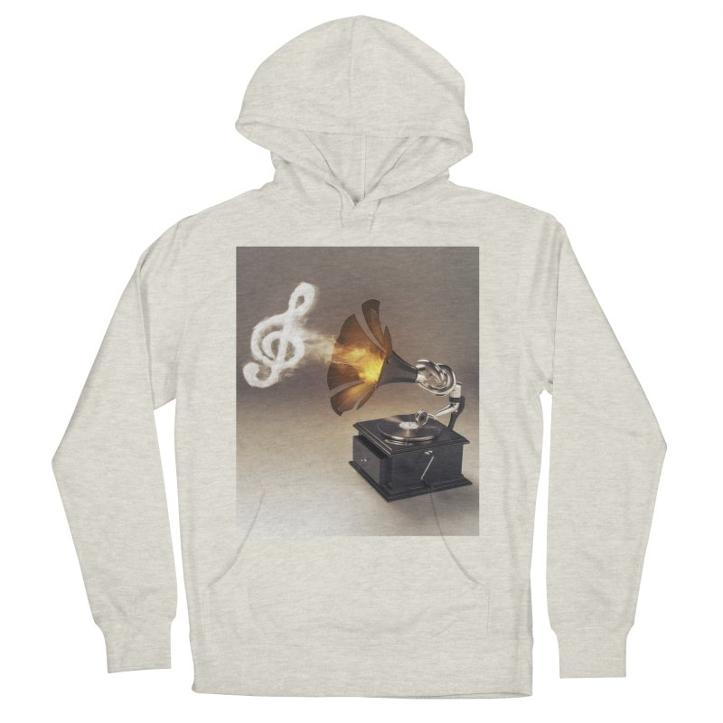 Let The Music Play Men's Pullover Hoody by nickmanofredda's Artist Shop