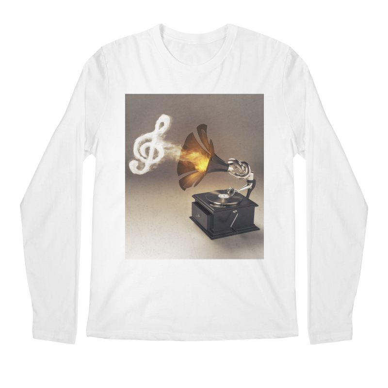 Let The Music Play Men's Longsleeve T-Shirt by nickmanofredda's Artist Shop
