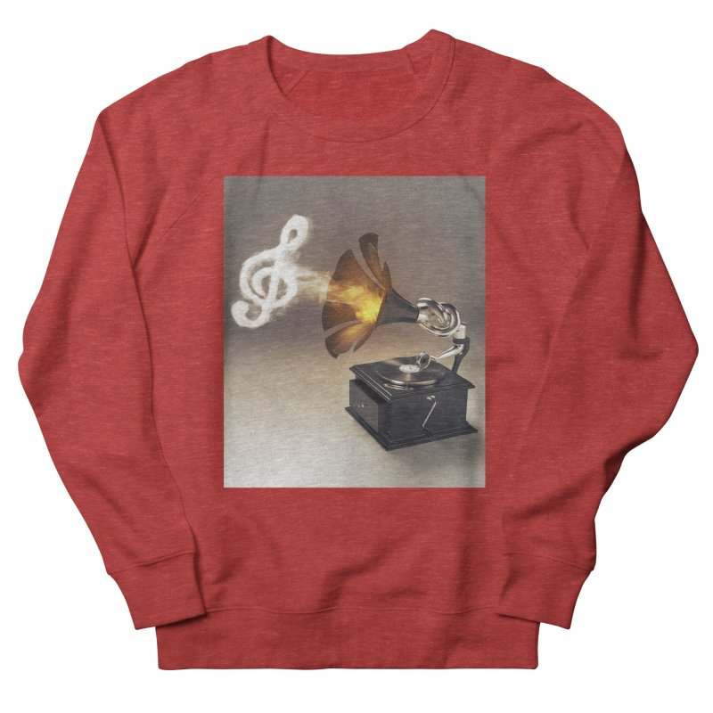 Let The Music Play Women's Sweatshirt by nickmanofredda's Artist Shop