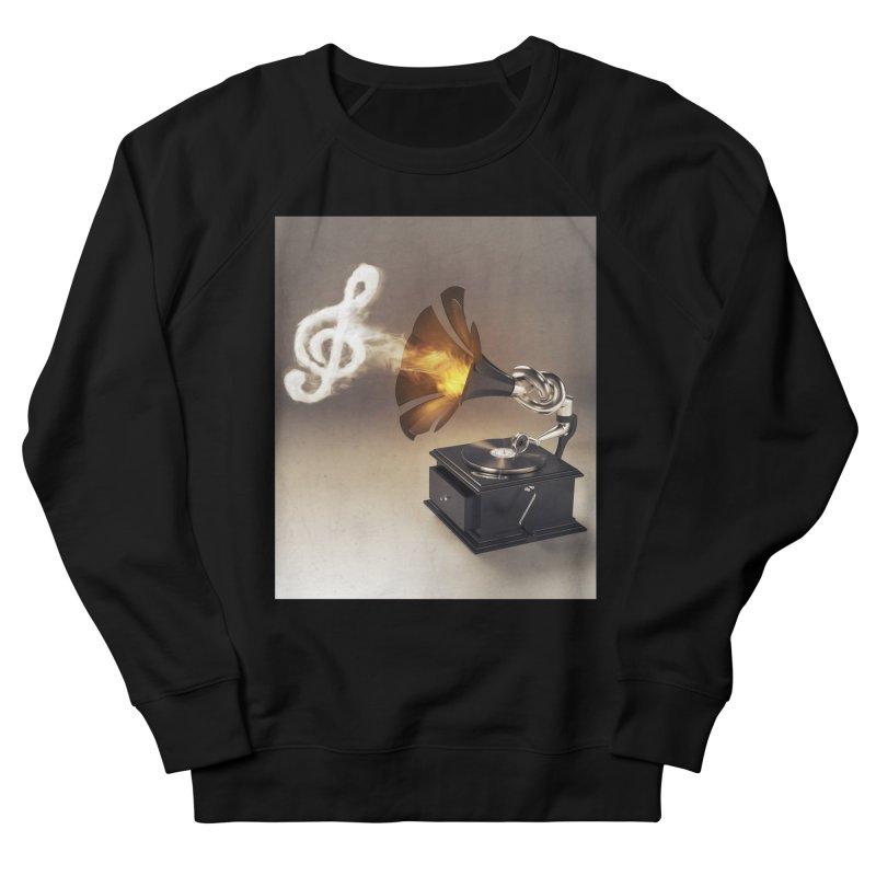 Let The Music Play Women's Sweatshirt by nickmanofredda's Artist Shop