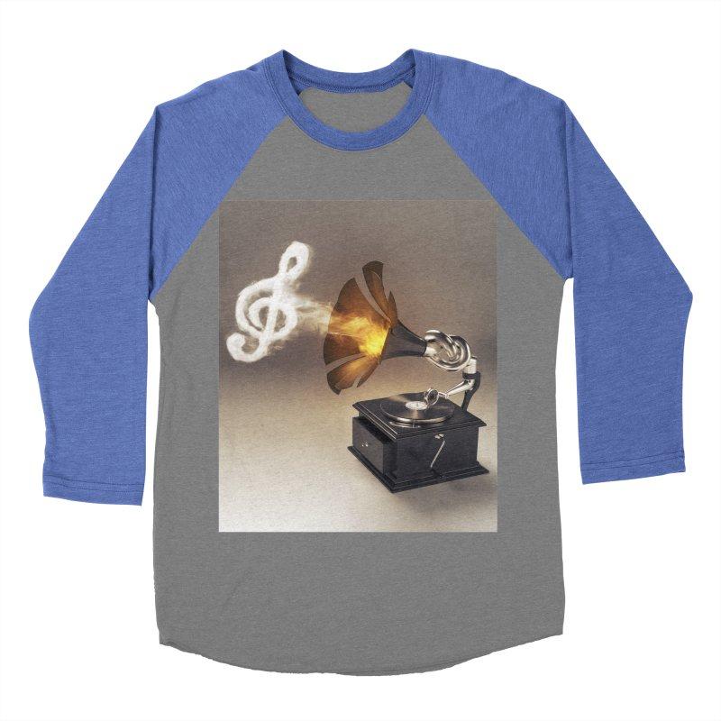 Let The Music Play Women's Baseball Triblend T-Shirt by nickmanofredda's Artist Shop