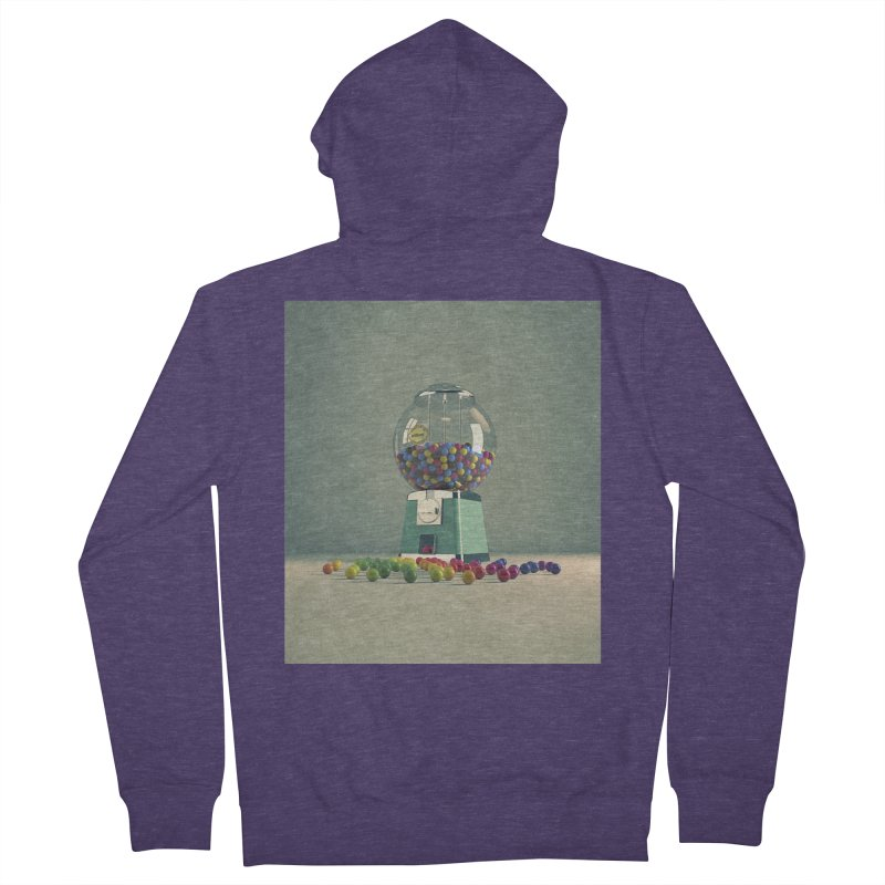 World Is Better Without Intolerance Men's French Terry Zip-Up Hoody by nickmanofredda's Artist Shop