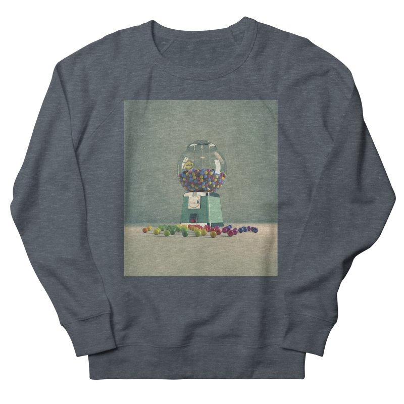 World Is Better Without Intolerance Men's French Terry Sweatshirt by nickmanofredda's Artist Shop