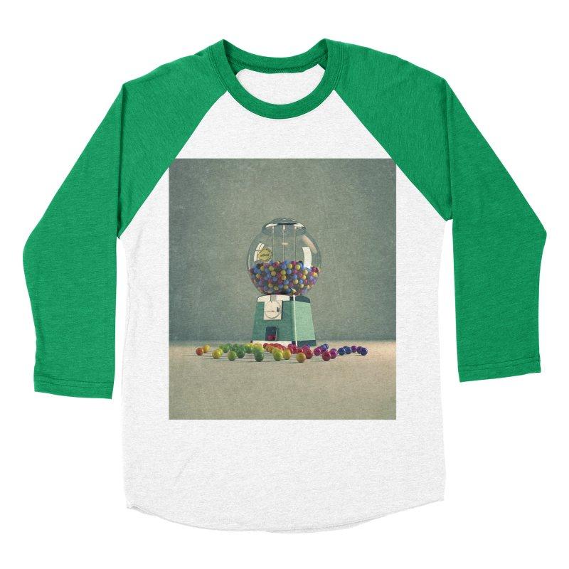 World Is Better Without Intolerance Women's Baseball Triblend T-Shirt by nickmanofredda's Artist Shop