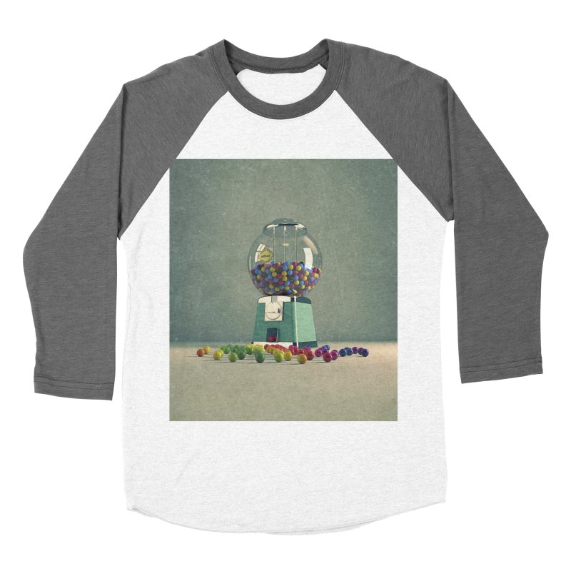 World Is Better Without Intolerance Men's Baseball Triblend Longsleeve T-Shirt by nickmanofredda's Artist Shop