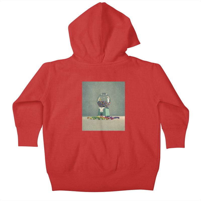 World Is Better Without Intolerance Kids Baby Zip-Up Hoody by nickmanofredda's Artist Shop