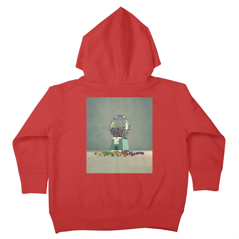World Is Better Without Intolerance Kids Toddler Zip-Up Hoody by nickmanofredda's Artist Shop