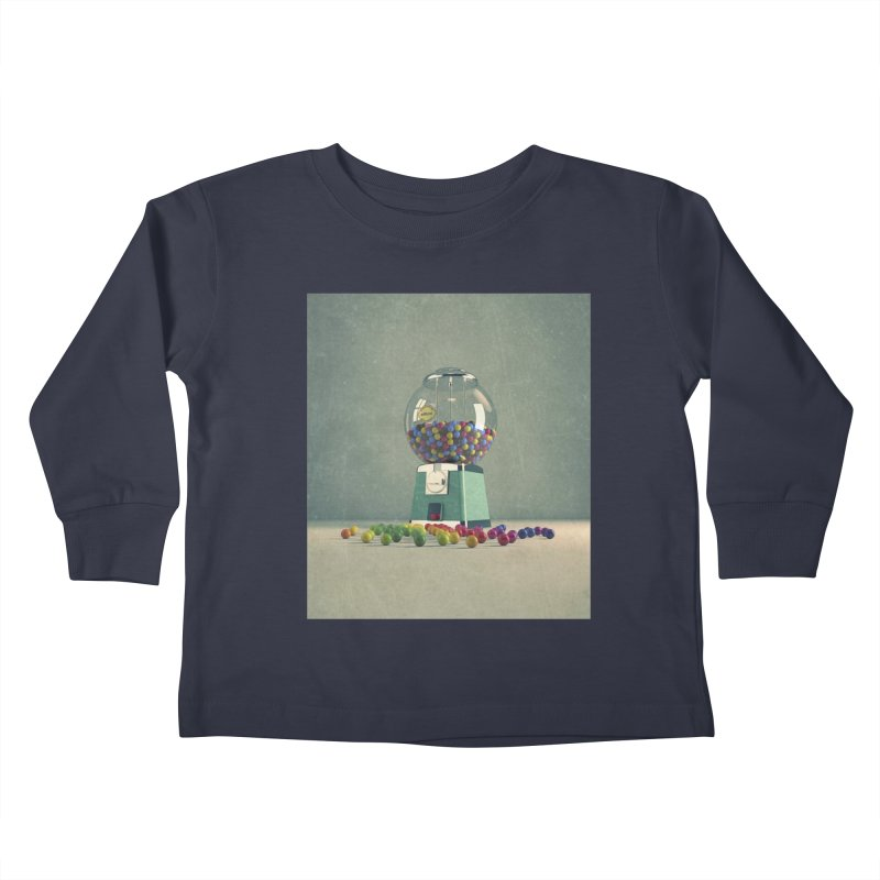 World Is Better Without Intolerance Kids Toddler Longsleeve T-Shirt by nickmanofredda's Artist Shop
