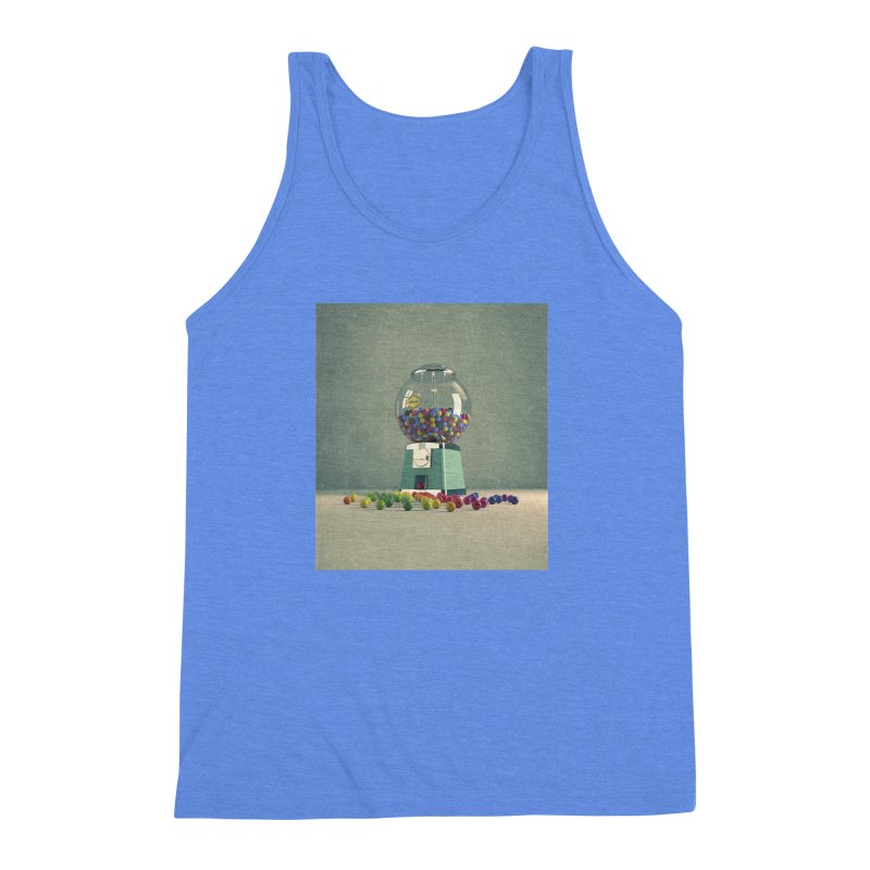 World Is Better Without Intolerance Men's Triblend Tank by nickmanofredda's Artist Shop
